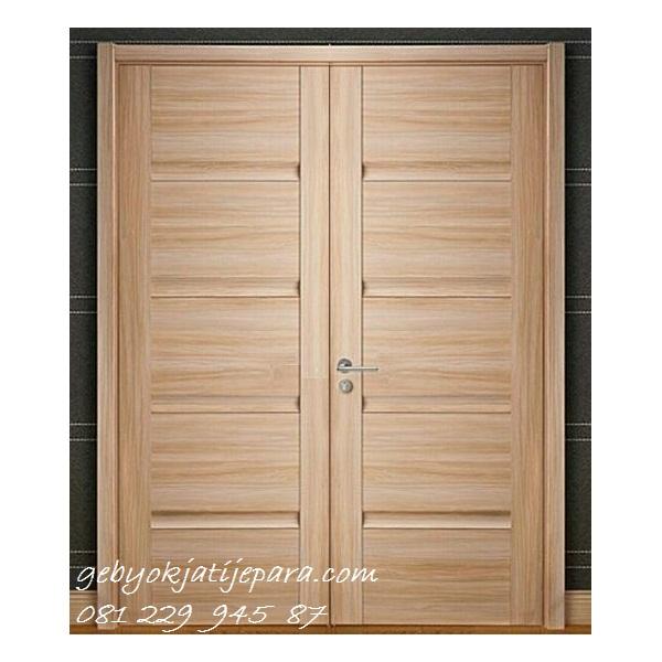 KUSEN PINTU RUMAH | Jual Kusen Pintu Rumah Kayu Jati Minimalis Mewah Modern Klasik Model 2 Pintu Kupu Tarung Harga Murah