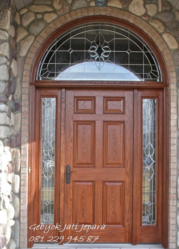 Jual Kusen Pintu Rumah Klasik Classic Kayu Jati