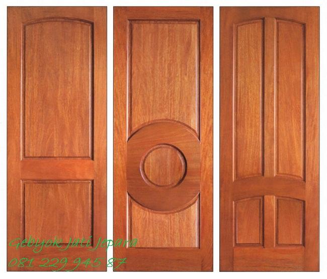 Jual Kusen Pintu Rumah Kayu Jati Jepara Murah