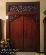 Pintu Gebyok Minimalis Jepara