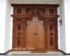 Desain Rumah Minimalis Menggunakan Pintu Gebyok Jepara