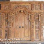 Contoh Desain Pintu Rumah Gebyok Jepara