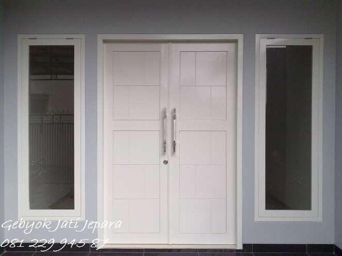 PINTU RUMAH WARNA PUTIH | Jual Pintu Rumah Warna Putih Minimalis Mewah Modern Klasik Model Kusen Jendela Harga Murah