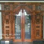 Jual Gebyok Kayu Jati Kaligrafi Kusen Pintu Masjid Ukir Arab Jepara Murah