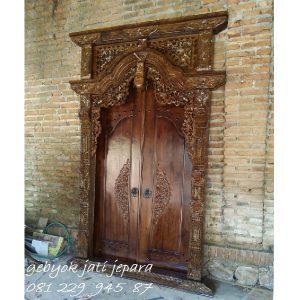 Gebyok 2 Pintu Jepara