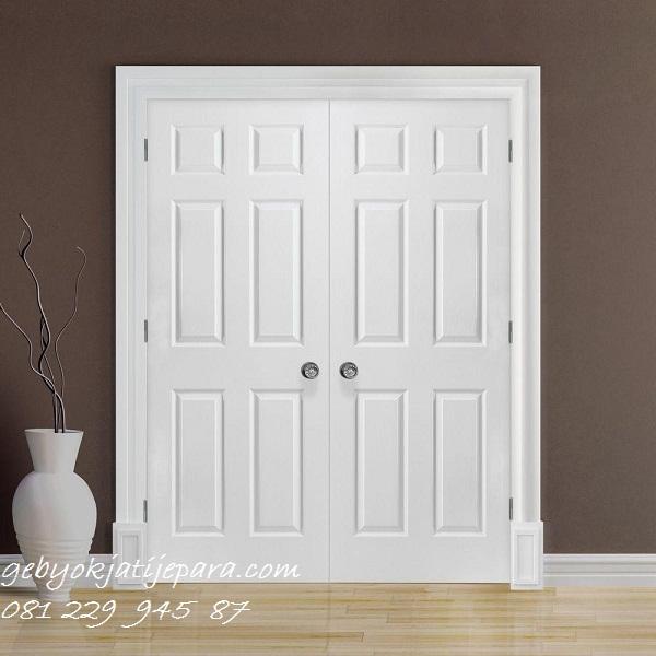 Jual Pintu Rumah Minimalis Terbaru Model Pintu Kamar Warna Putih Modern Mewah Klasik Harga Murah