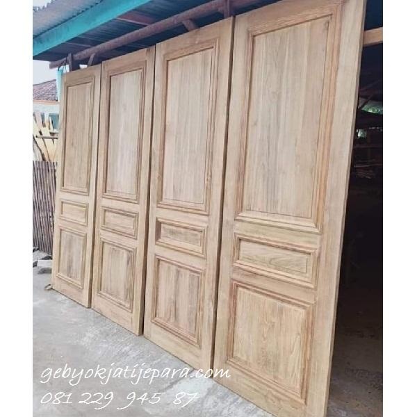 Contoh-Desain-Pintu-Rumah-Kayu-Jati (3) - Pintu Gebyok ...