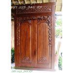 GEBYOK DUA PINTU MINIMALIS | Jual Gebyok Dua Pintu Minimalis Mewah Modern Klasik Model Kusen 2 Pintu Kamar Rumah Kayu Jati Harga Murah
