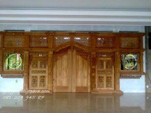 Gebyok Jepara Masjid