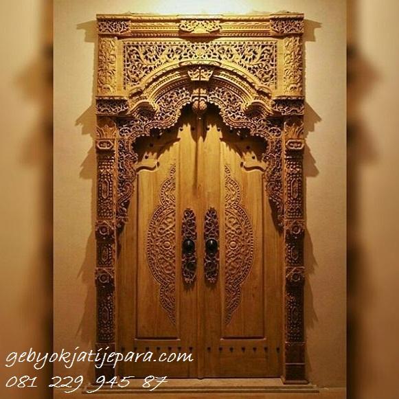 GEBYOK JEPARA MODEL KLASIK >> Jual Gebyok Jepara Model Klasik Mewah 2 Pintu Kamar Rumah Kayu Jati Ukir Ukiran Harga Murah