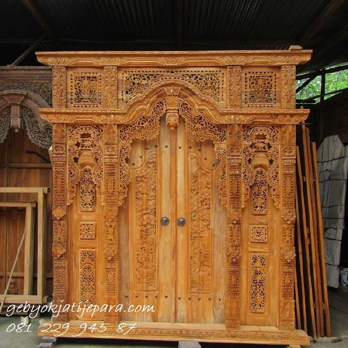 Pintu Gebyok Jepara Warisan Budaya Jawa